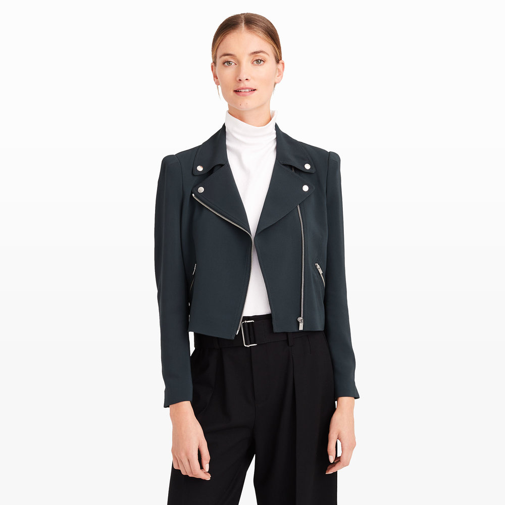 Linzy Moto Jacket. Club Monaco. Was: $279. Now: $169 Plus an additional 30% off with code: Fall30.