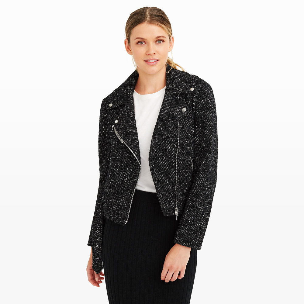 Zina Jacket. Club Monaco. Was: $279. Now: $199 Plus an additional 30% off with code: Fall30.