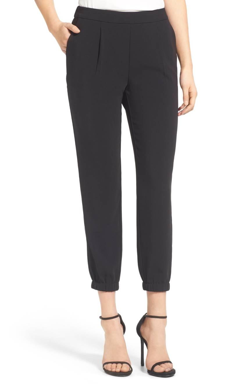 Stretch Crepe Jogger Pants. Nordstrom. $79.