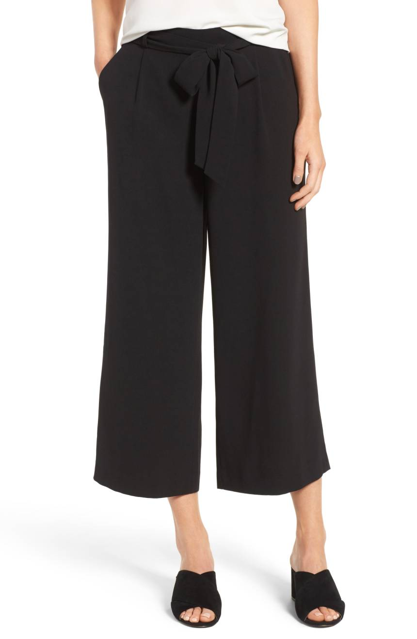 Halogen Wide Leg Crop Pants. Nordstrom. $69.