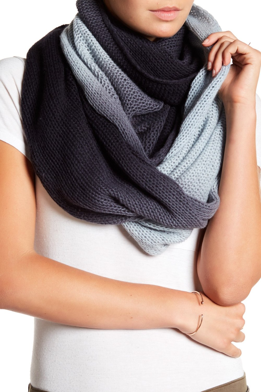 SKULL CASHMERE Gracen Cashmere Infinity Scarf. Available in multiple colors. Nordstrom Rack. Was: $219. Now: $99.