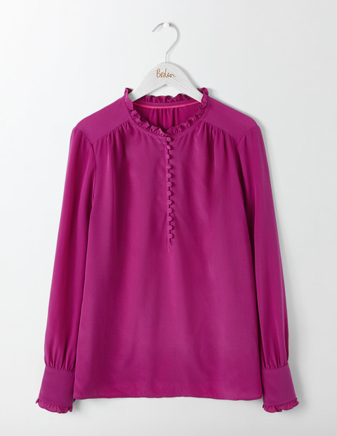 ELLA SILK BLOUSE. Available in multiple colors. Boden. $150.