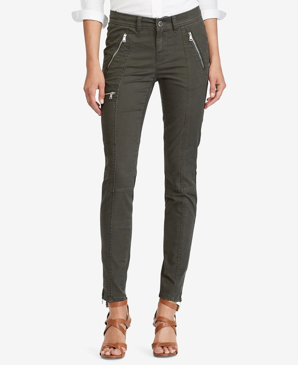 Lauren Ralph Lauren  Petite Cargo Pants. Macy's. Was: $99. Now: $69.