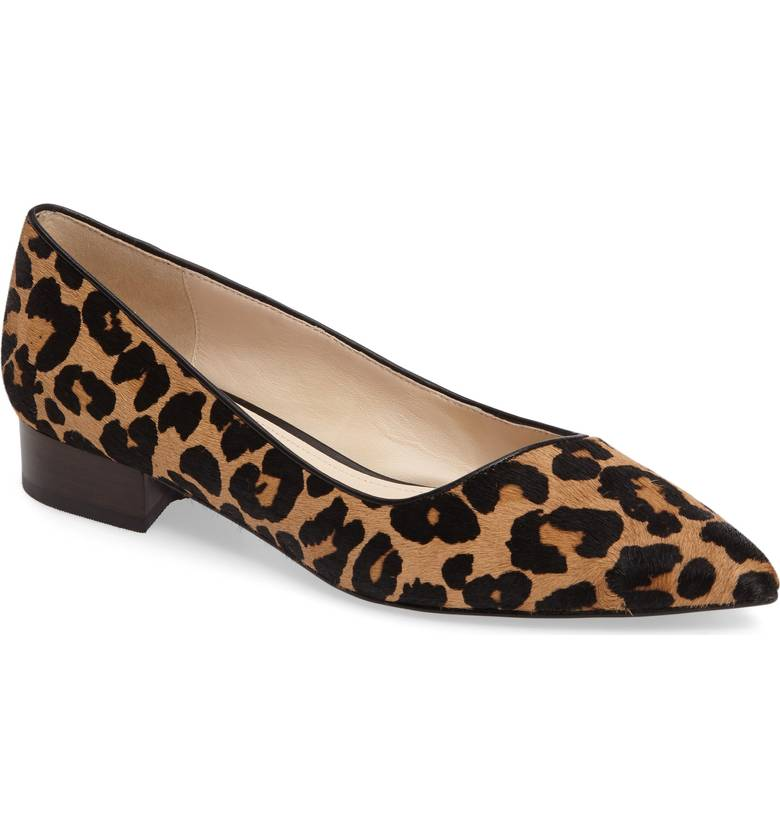 Cole Haan Heidy Pointy Toe Flat. Available in multiple colors, prints. Nordstrom. $89.