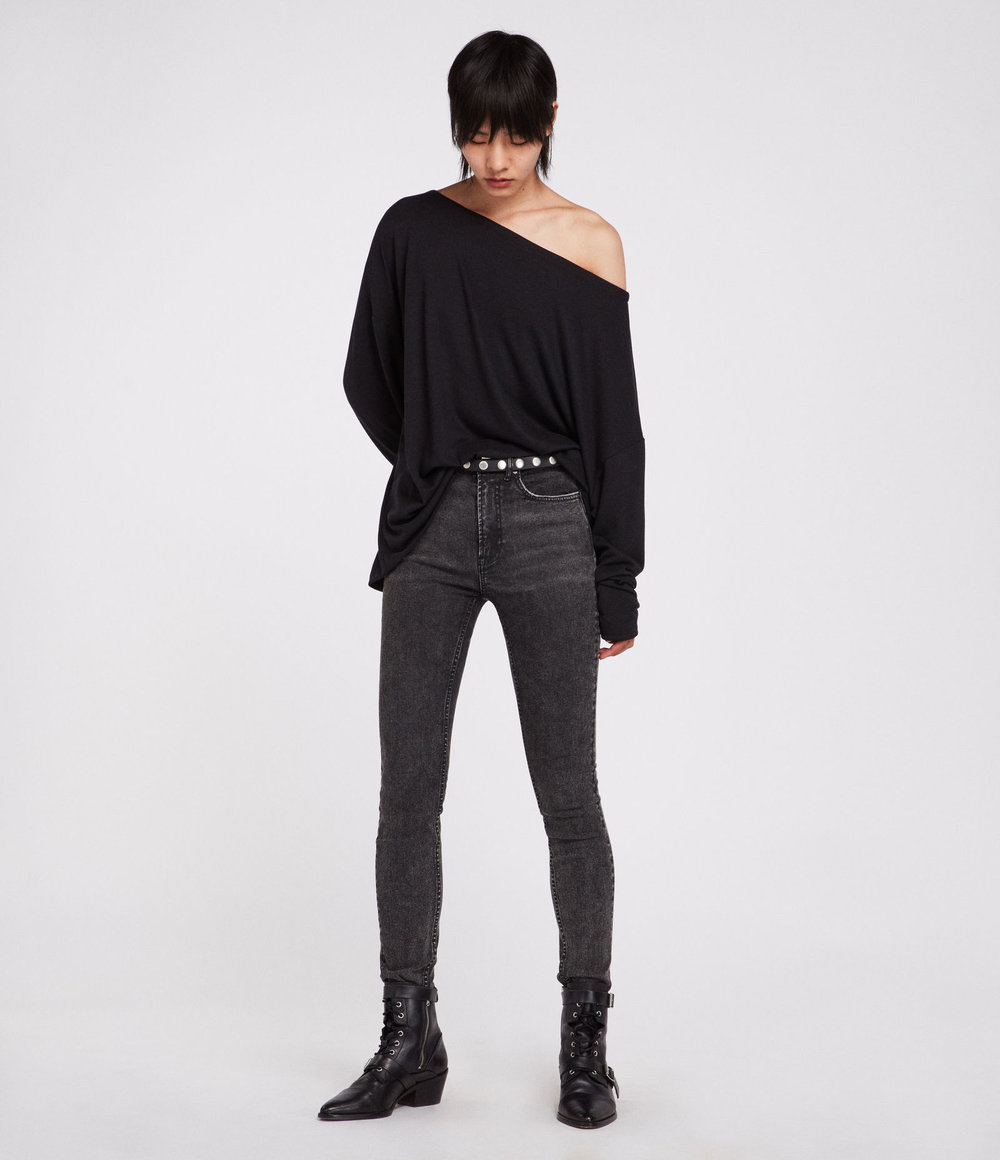RITA TOP. Available in three colors. All Saints. $75.