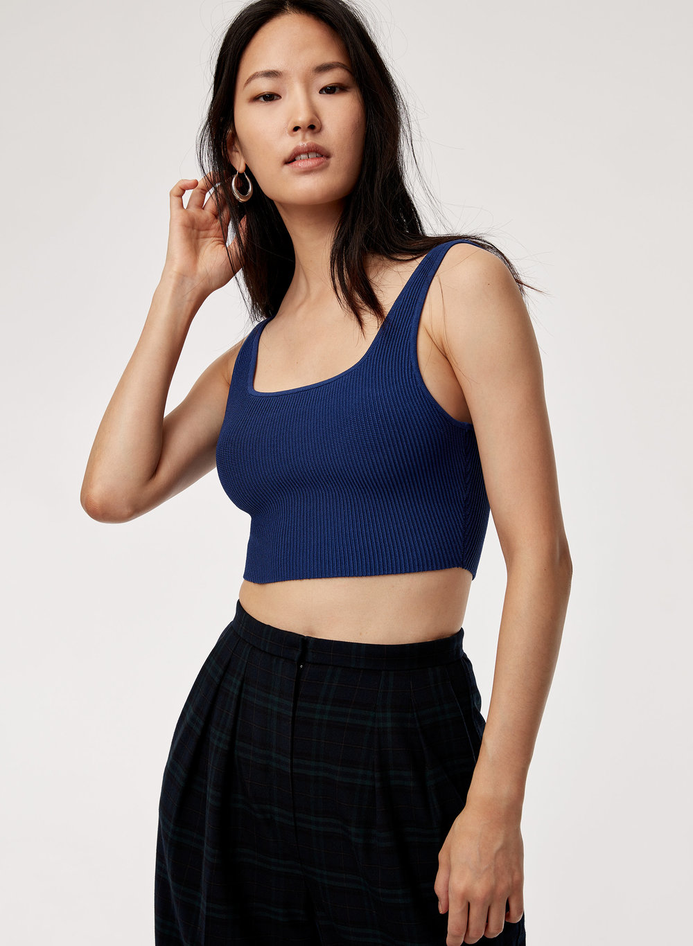 Babaton    Arjun Knit Top. Available in a zillion colors. $58.