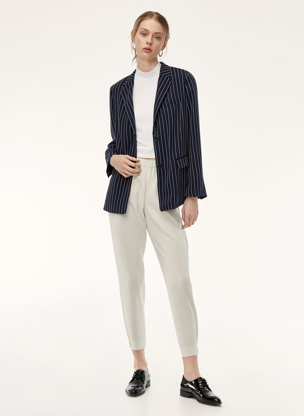 Babaton    Dexter Pant Terado. Available in multiple colors. Aritzia. Was: $148. Now: $58.