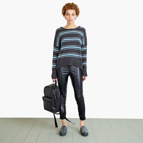 Nevereven vegan leather leggings. J.Crew. $59.