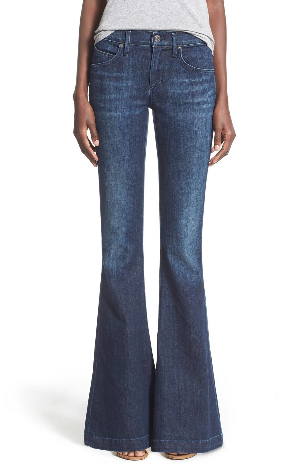 AGOLDE Madison Mid rise Flare Jeans. Nordstrom. $128.