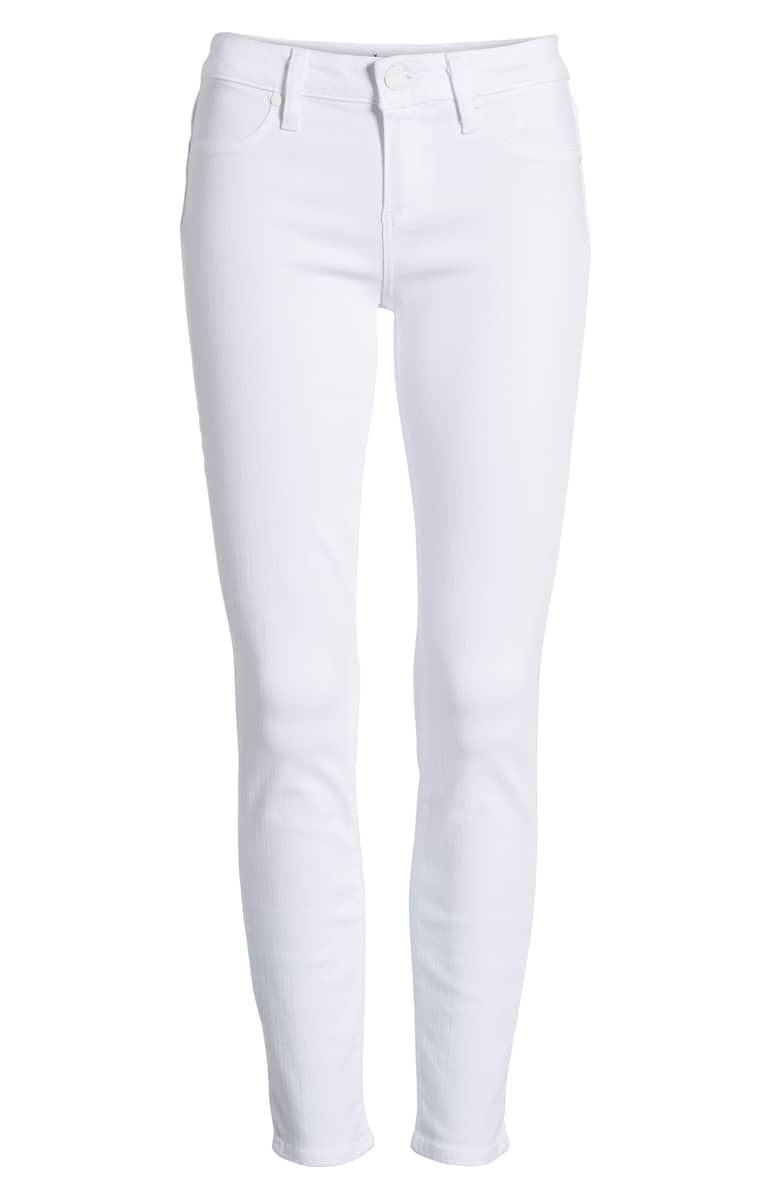 Paige 'Verdugo' Mid rise Ankle Skinny Jeans. Nordstrom. Was: $189. Now: $139.