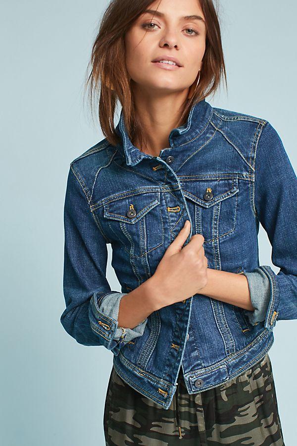 Pilcro Classic Denim Jacket. Antho. $158.