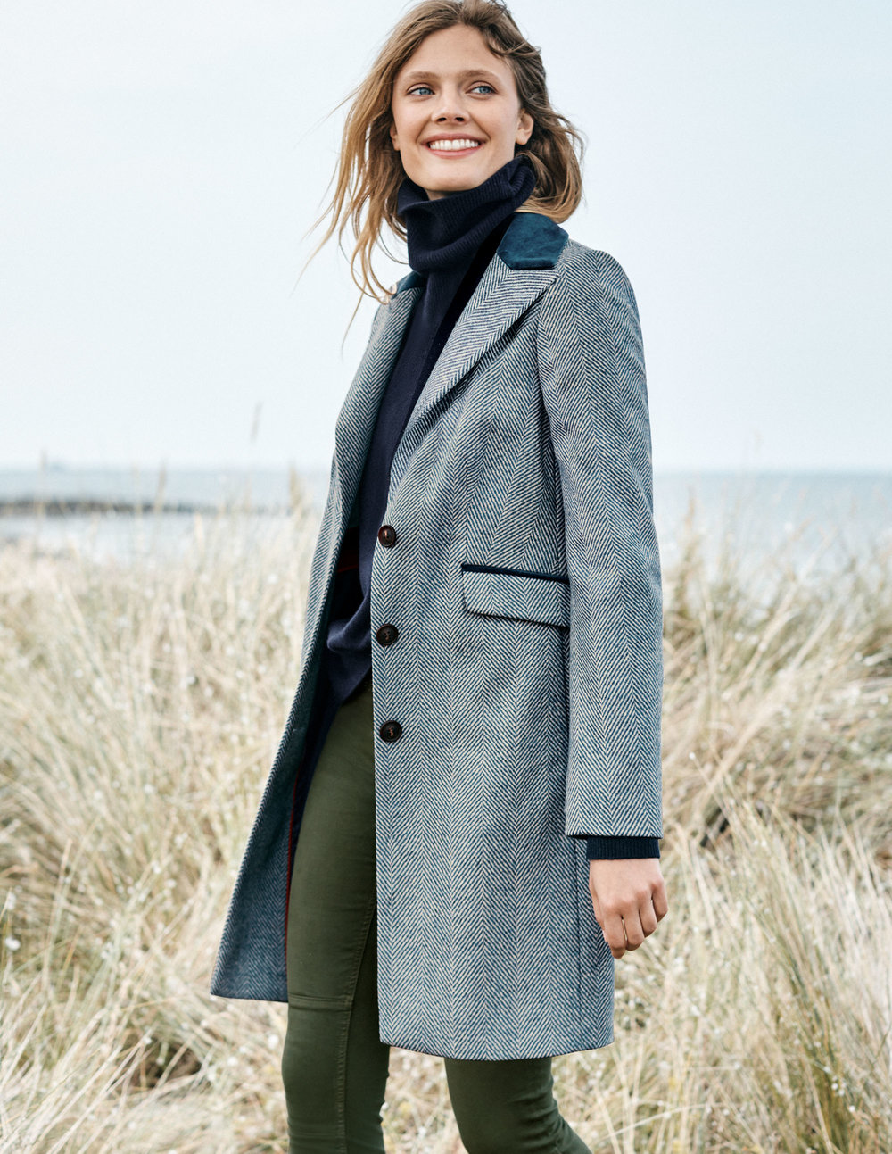 EASTBOURNE COAT. Available in three colors and in long. Boden. Was $298.00. Now $178.80 To $238.40.