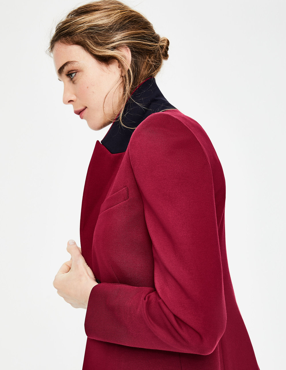 ELIZABETH PONTE BLAZER. Available in multiple colors. Boden. Was $150.00 To $170.00. Now $90.00 To $150.00.