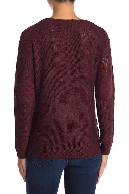 Modern Designer V-Neck Step Hem Tonal Patch Sweater. Available in multiple colors. Nordstrom Rack. Was: $90. Now: $24.