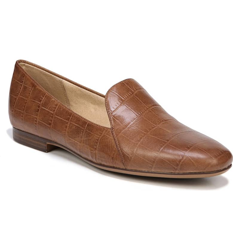 Naturalizer Emiline Flat Loafer. Available in narrow width. Nordstrom. Was: $89. Now: $48.