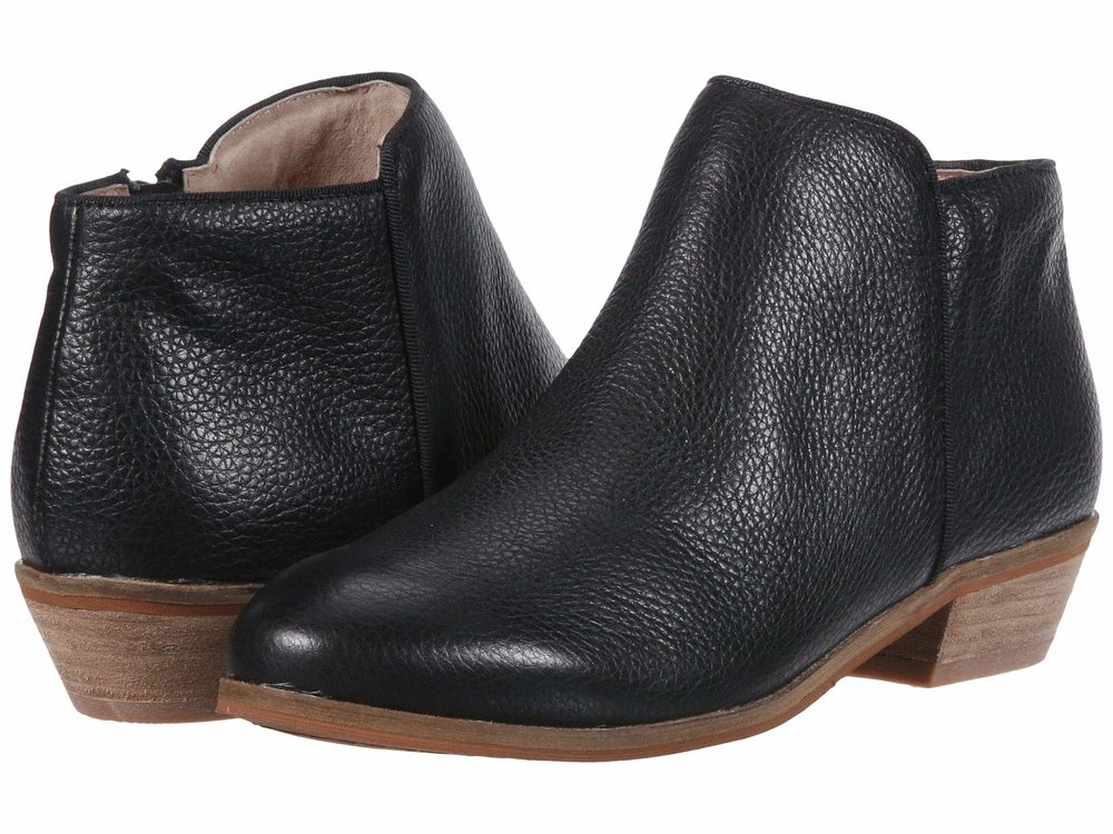 SoftWalk   Rocklin . Available in multiple colors and in narrow. (I vote for black, brown or burgundy.) Zappos. Was: $144. Now: $134.