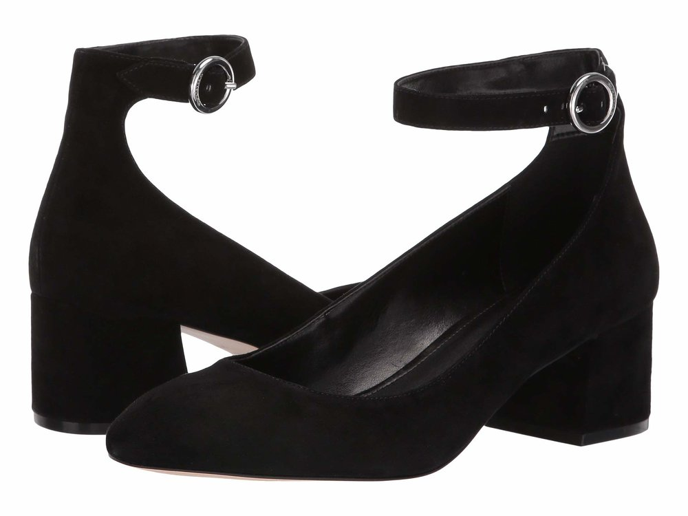 MICHAEL Michael Kors   Estelle Ankle Strap . Available in two colors. Zappos. $120.
