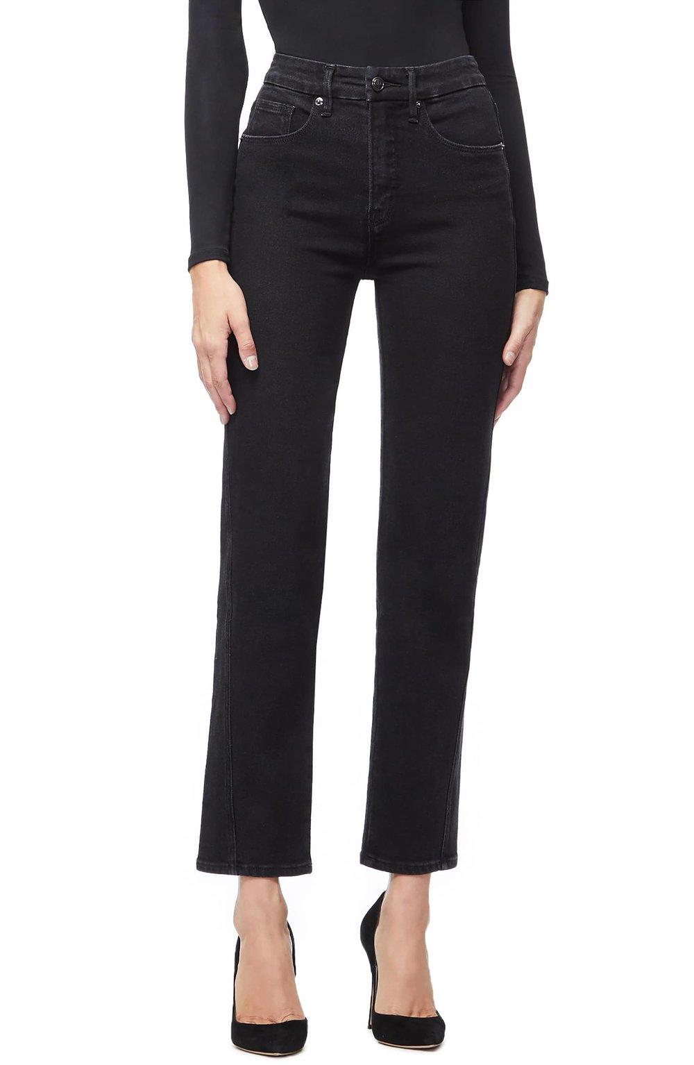 Good American Twist Seam Crop Straight Leg Jeans. Nordstrom. $169.