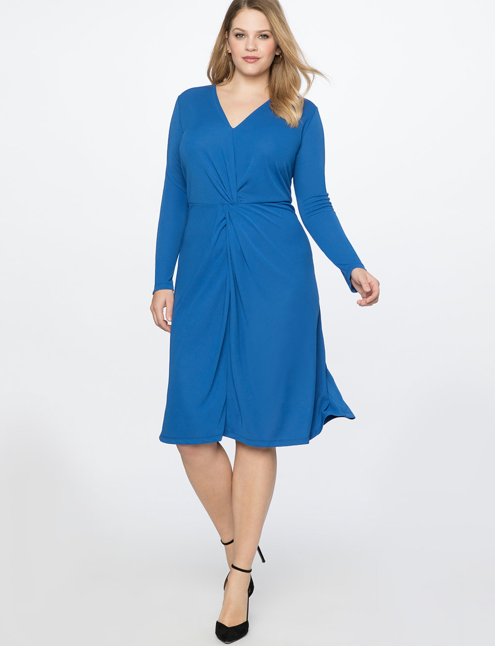 Twist Front Dress. Eloquii. $99.