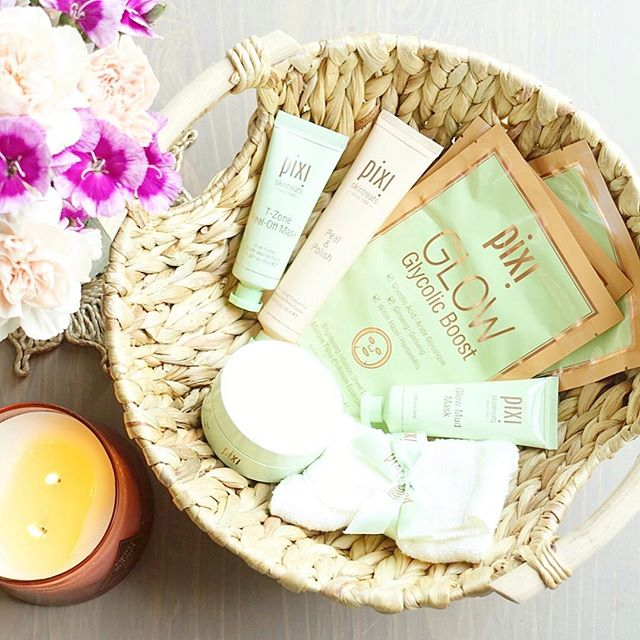 Happy to add these new @pixibeauty goodies to my skincare routine...😌🌸✨