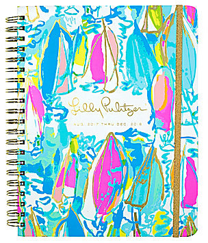 Lilly Pulitzer - Beach and Bae Agenda
