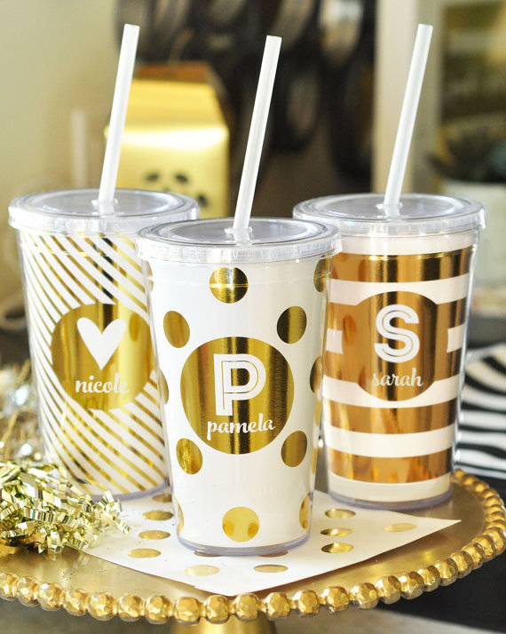 Bridesmaid Gift Tumblers