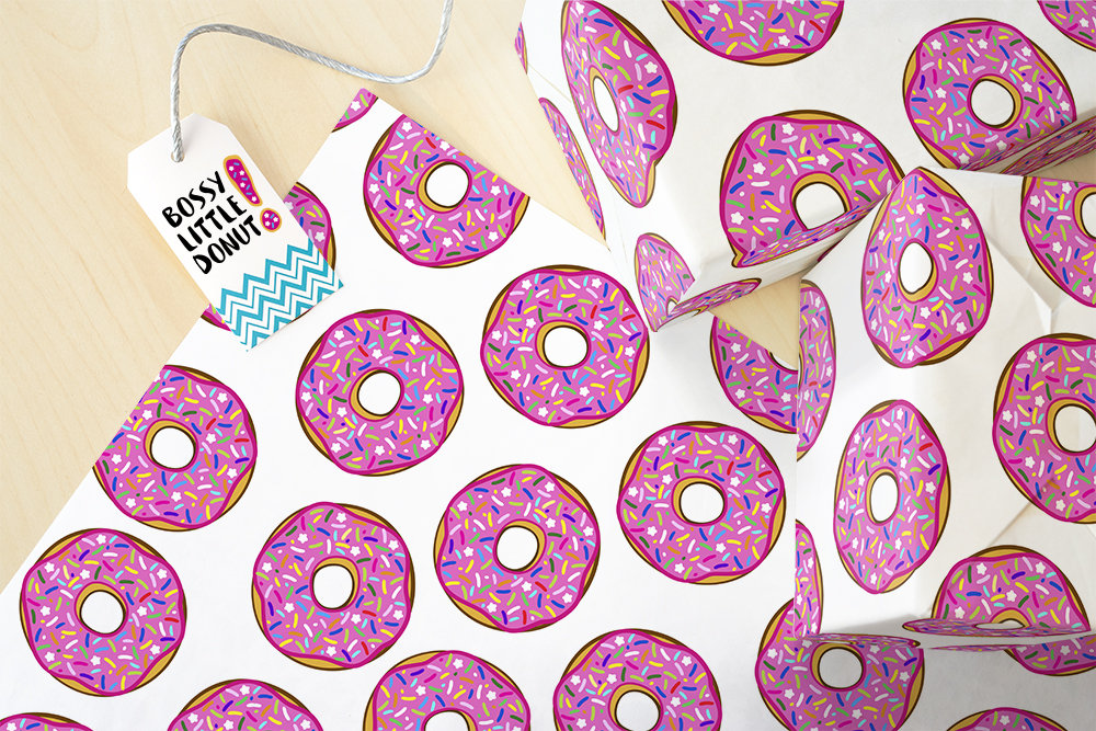 Donut Gift Wrap