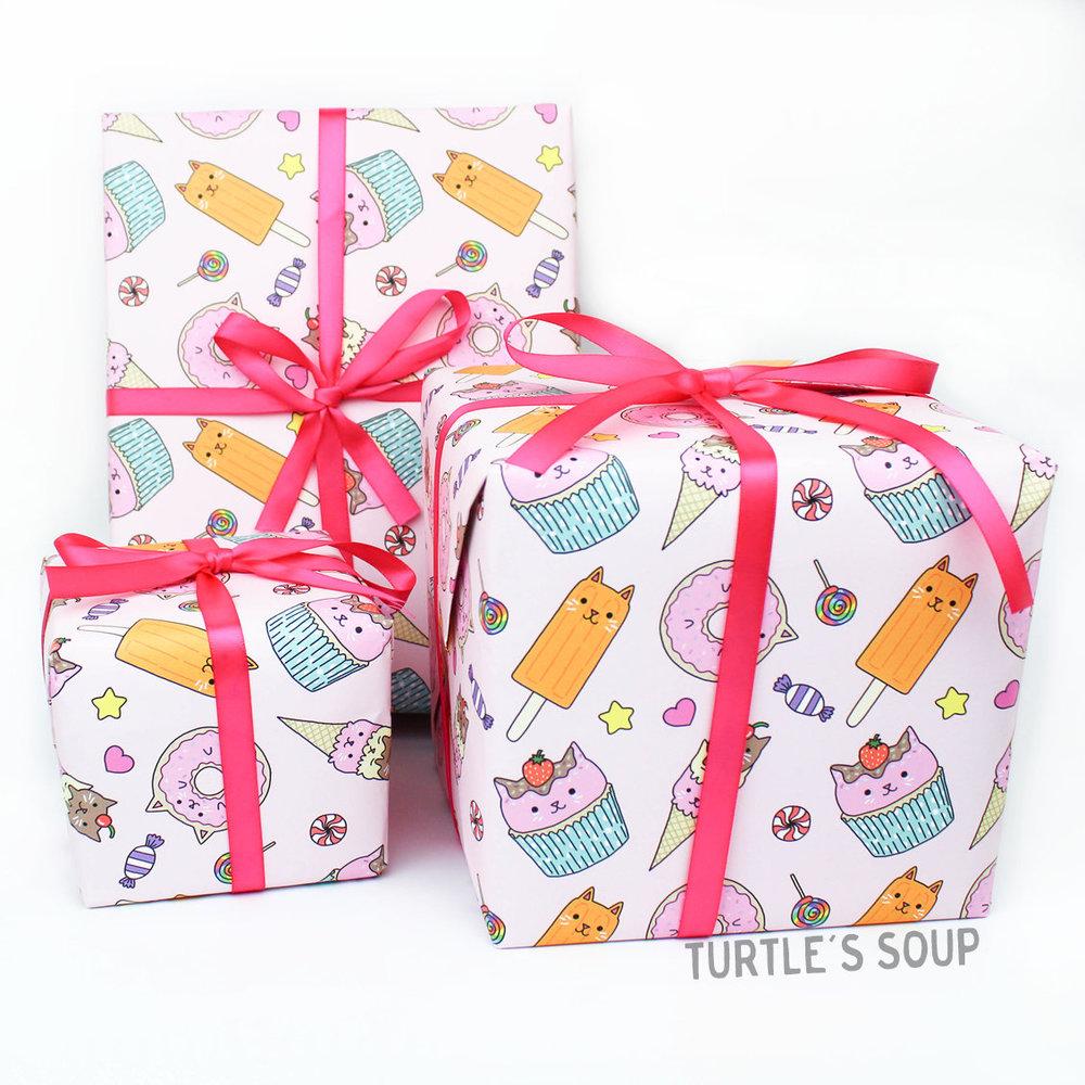 Kwaii Gift Wrap