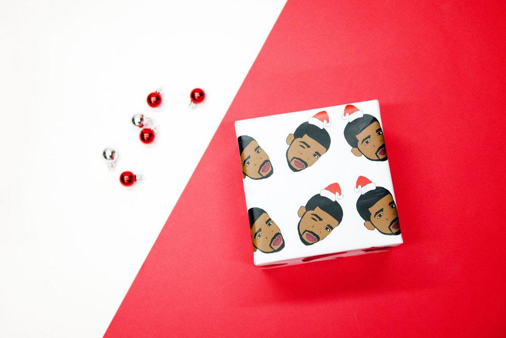 Drizzy Drake Gift Wrap