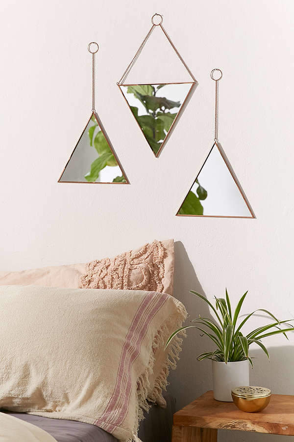 Triangle Mirror Set