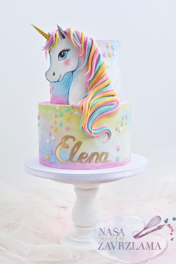 Love Tl Hayden All Posts Magical Unicorn Birthday Cakes For Kids