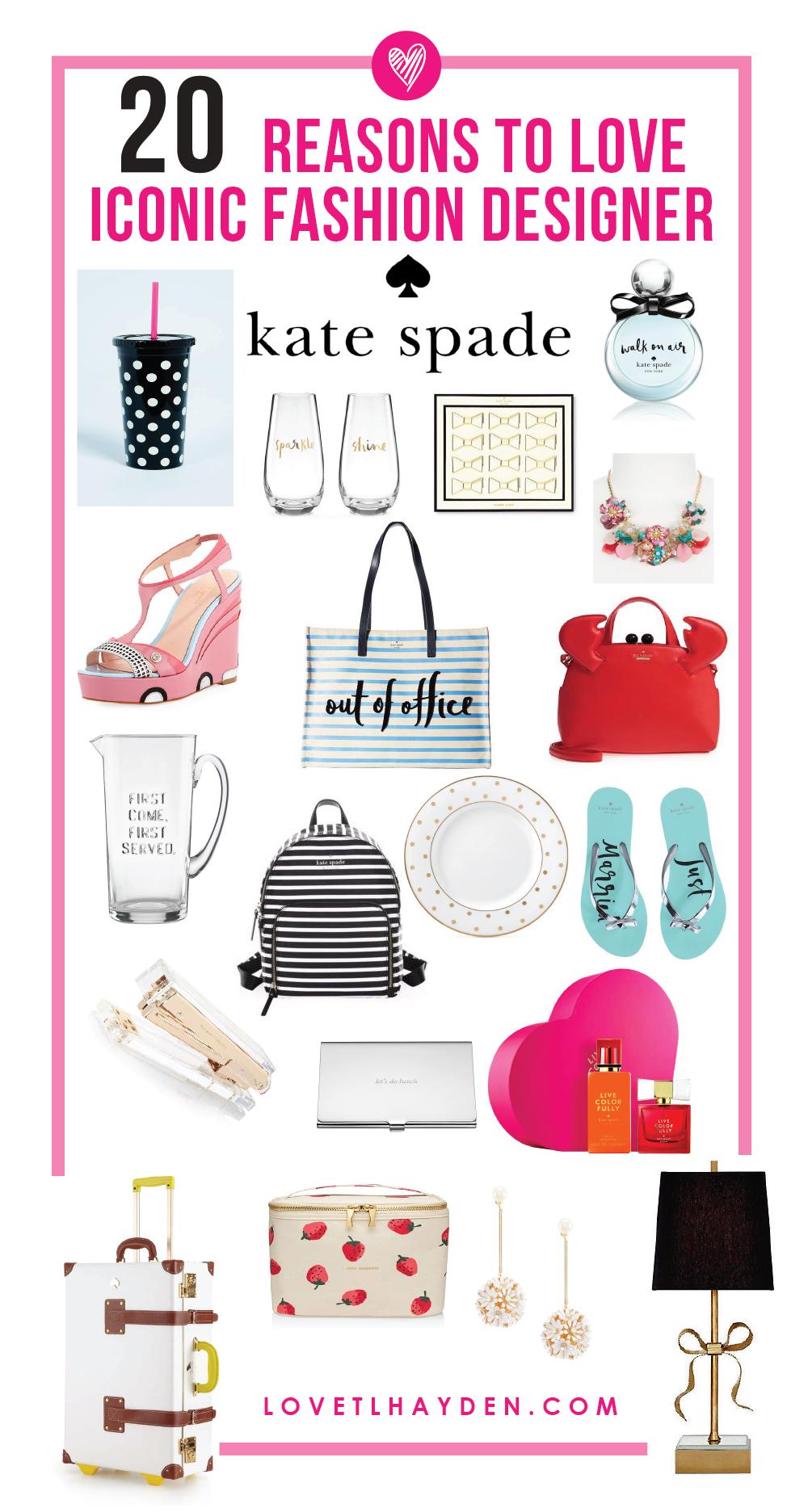 20 reasons to love iconic fashion designer kate spade