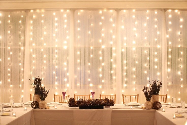 LED Curtain Lights Backdrop