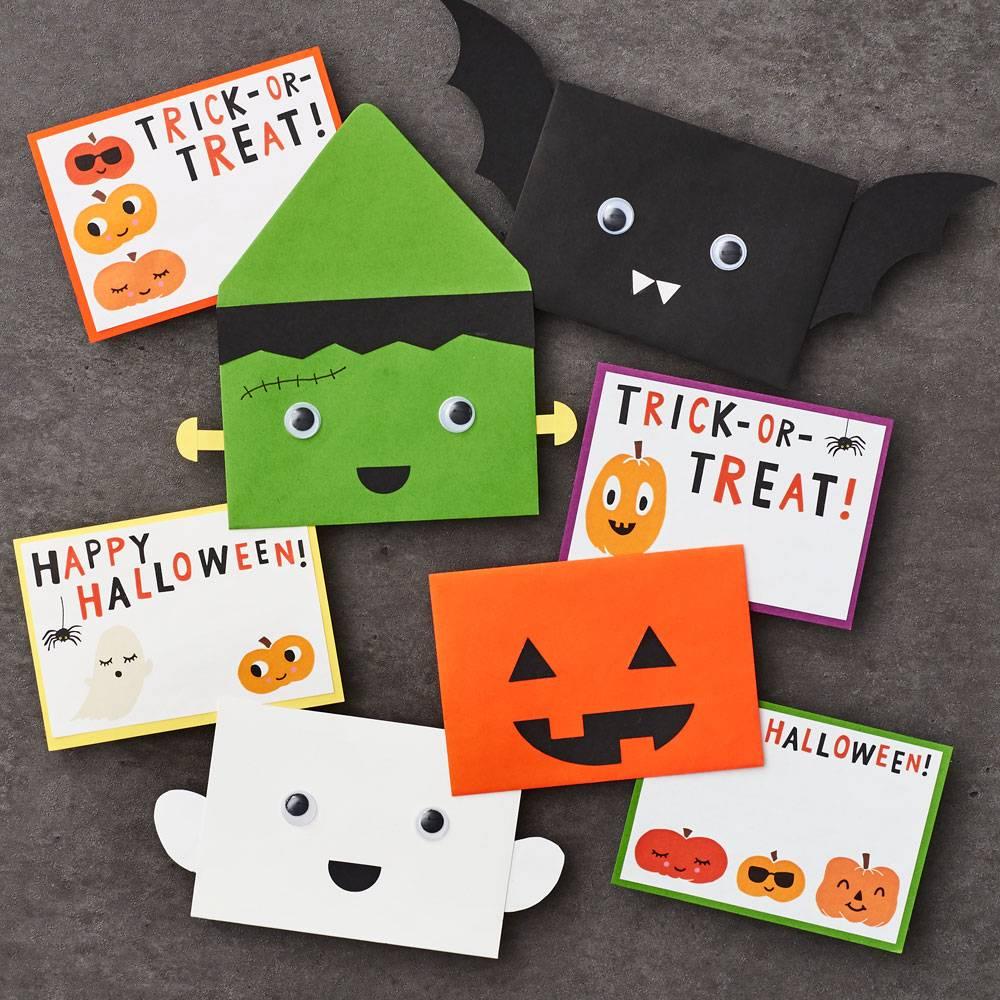 Kids Halloween Card Kit