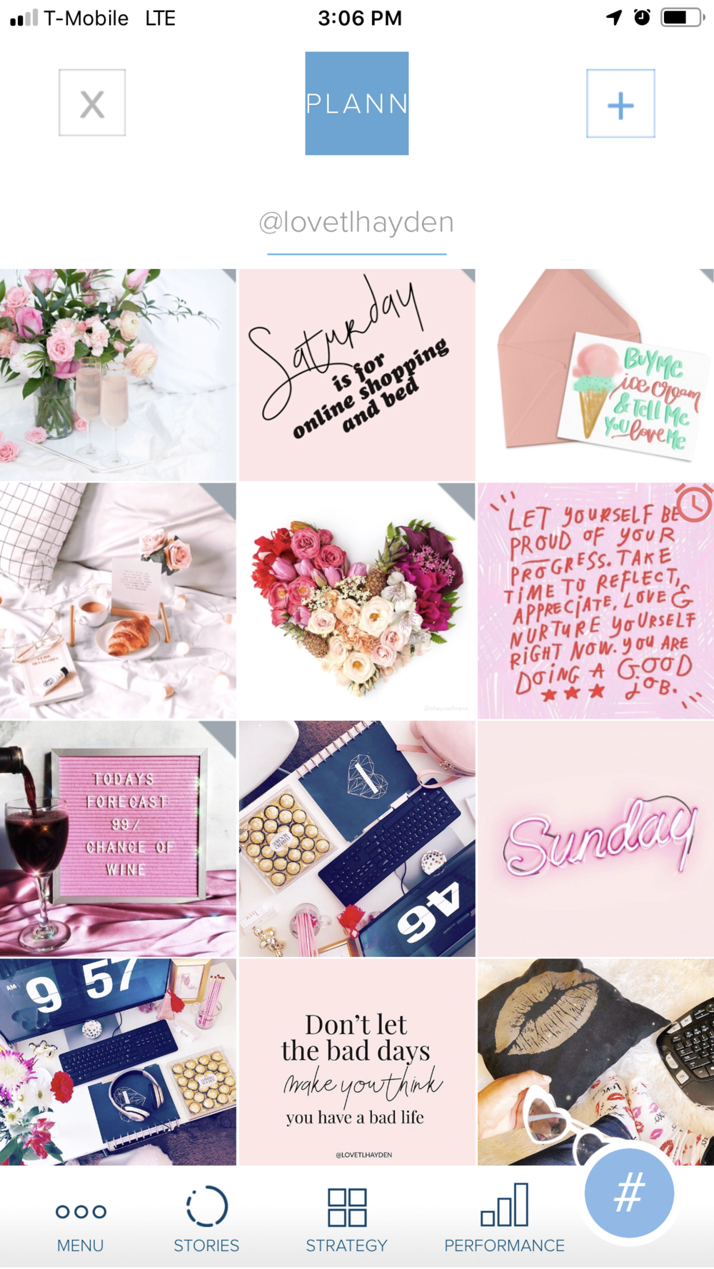 lovetlhayden | her design diary | the plann app
