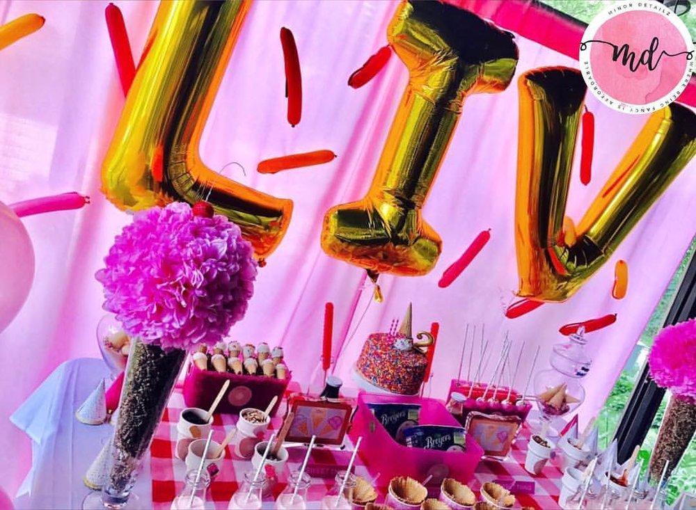 Ice Cream & Cake Birthday Party