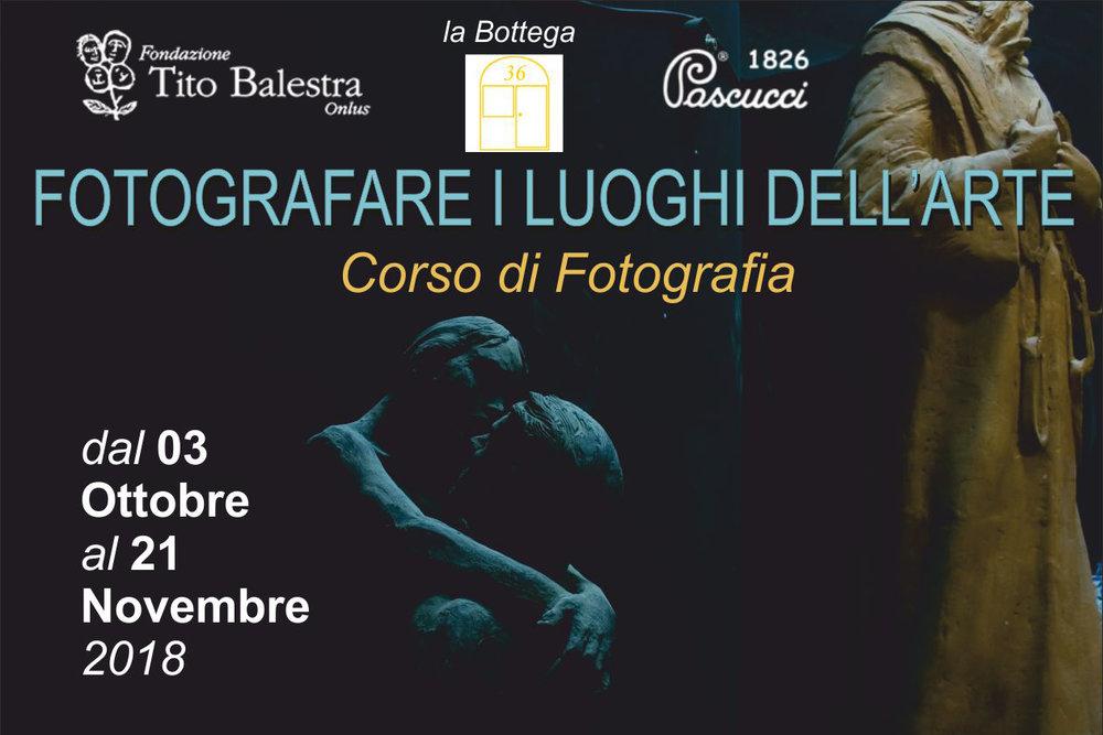 Workshop di Fotografia - Savignano sul Rubicone (FC)Dal 3 ottobre al 21 novembre 20185 Lezioni teoriche + 3 Lezioni praticheOrganizzato da Mosik Assoc. Culturale