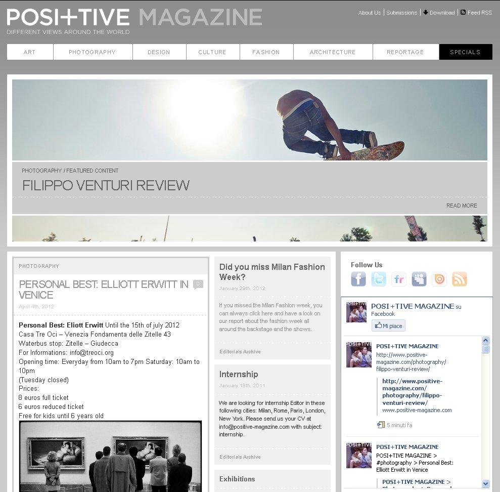 Posi+tive Magazine