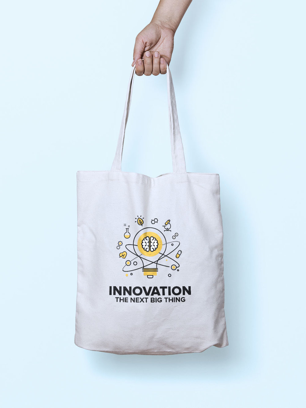 Innovation | Tote bag graphic design Manly, Sydney