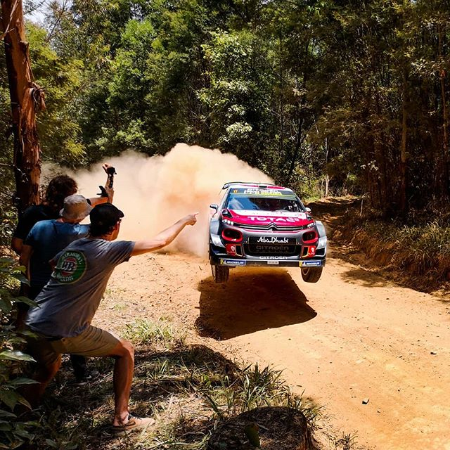 That time of the year again. Getting filthy at the WRC. . . . . . #wrc #rallyaustralia #wrcaustralia