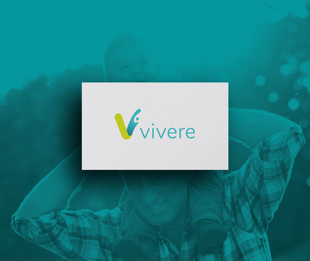 Vivere logo design