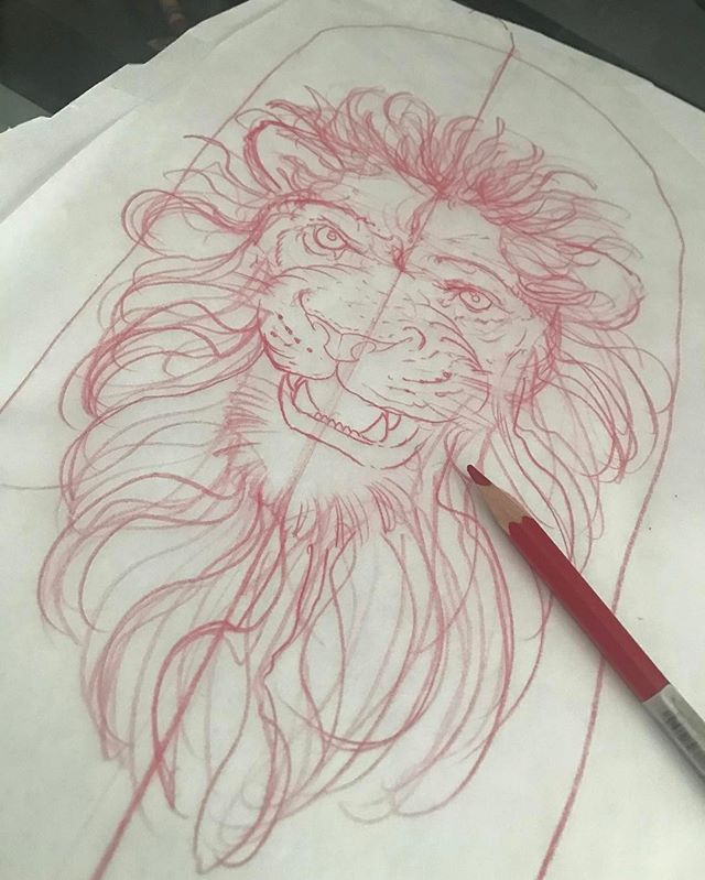 Lil sketch for Today's tattoo on my son Alec