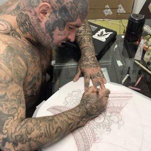 Joseph Haefs Reverent Tattoo