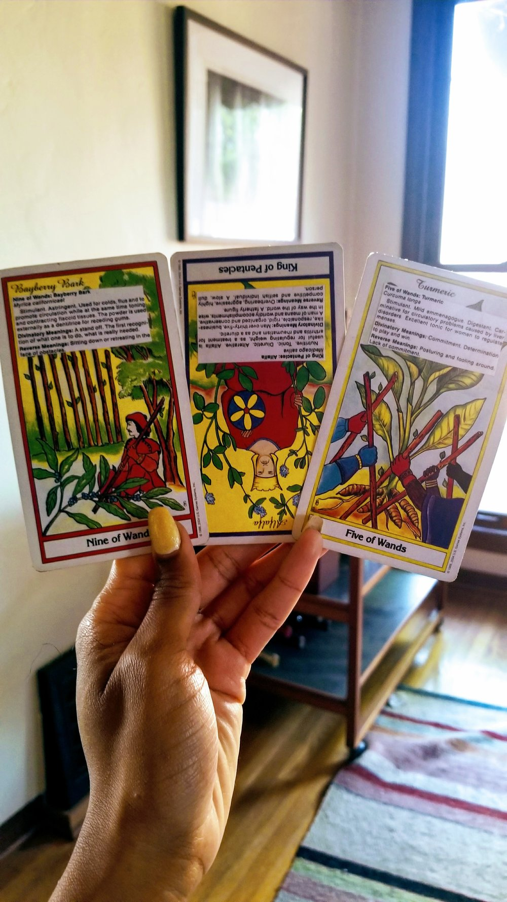 Herbal Tarot Reading: February 2018 — Sanyu Estelle