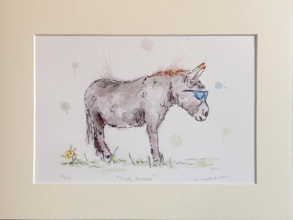 Cool Mule Print - £38.00