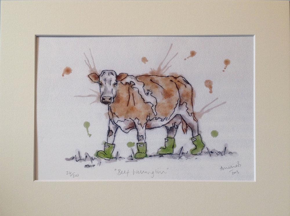 Beef Wellington Print - £38.00