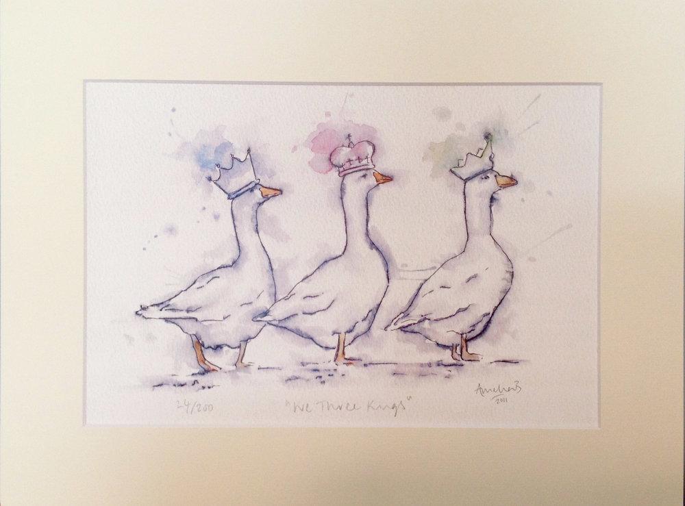 We Three Kings Print - £38.00
