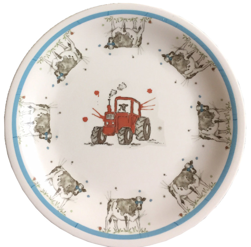 Tractor Plate - £8.00