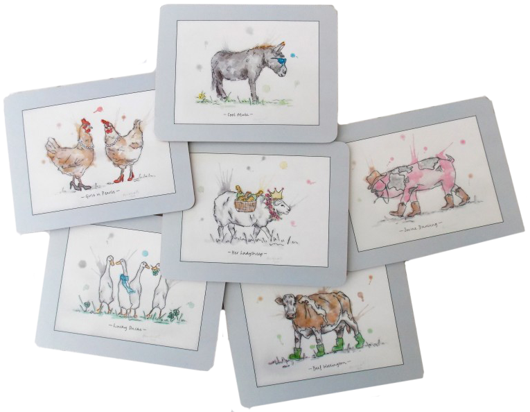 Farmyard Placemats - £49.00