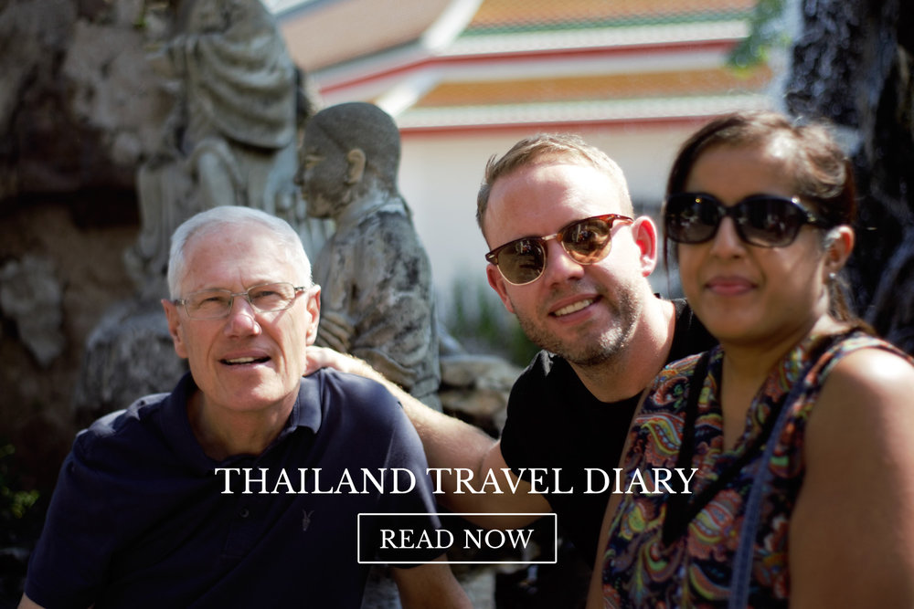 Thailand Travel Diary